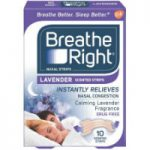 Breathe Right Lavender Nasal Strips reviews